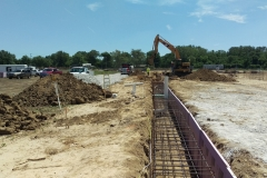 General Truck Sales Grade Beam Footing<br/> Toledo, OH